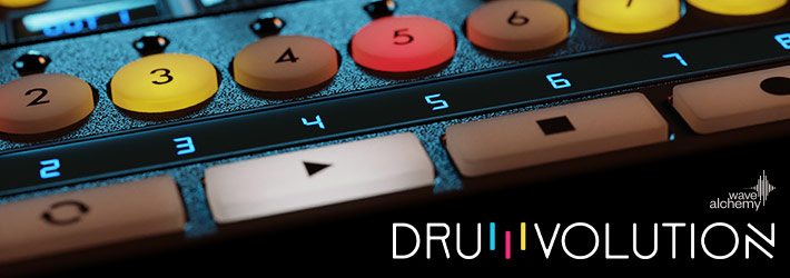 Drumvolution Drum Machine Plugin