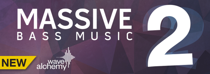 Massive Bass Music II by Wave Alchemy