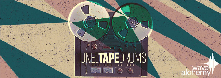 Tuned Tape Drums Samples